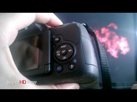 Sony SLT-A58K SLR-Digitalkamera Hands On - deutsch - [Super HD View]