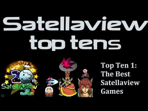 Satellaview 20th Anniversary - Top 10 Satellaview games
