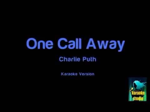 Charlie Puth - One Call Away (Karaoke Version )