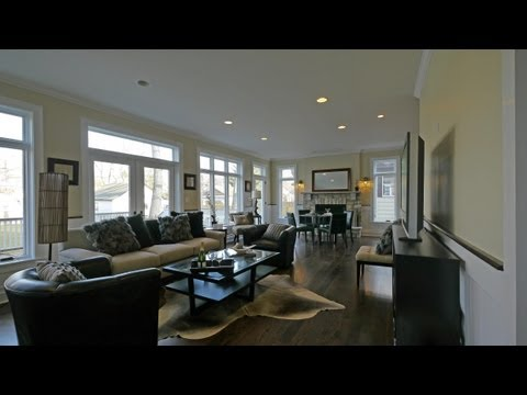 A New Year's Day open house at a new Wilmette home
