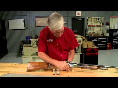 老槍匠用剖面模型講解「霰彈槍要打一下拉一下」的原因,細緻看完整個機械結構運作過程實在太神奇了!