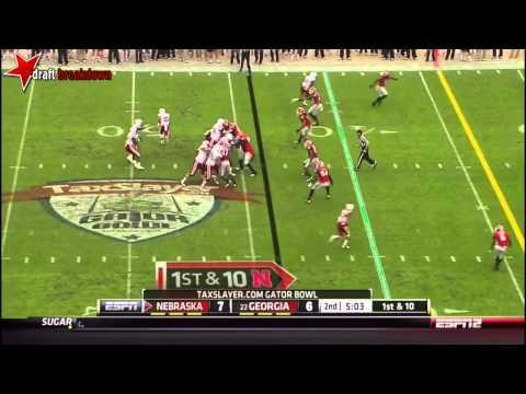 Quincy Enunwa vs Georgia 2013 (Gator Bowl) video.