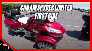 1. 2017 Can-Am Spyder RT Limited First Ride / Review