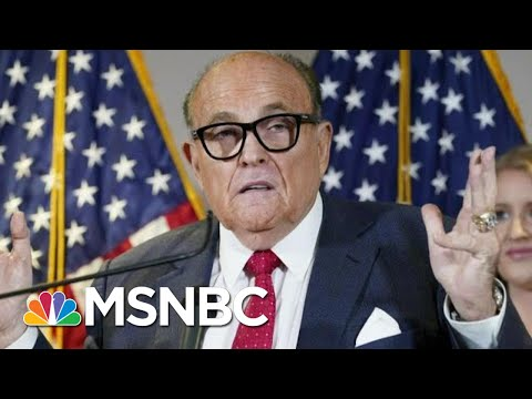 Dominion Voting Systems Sues Rudy Giuliani Over False Election Claims | Morning Joe | MSNBC