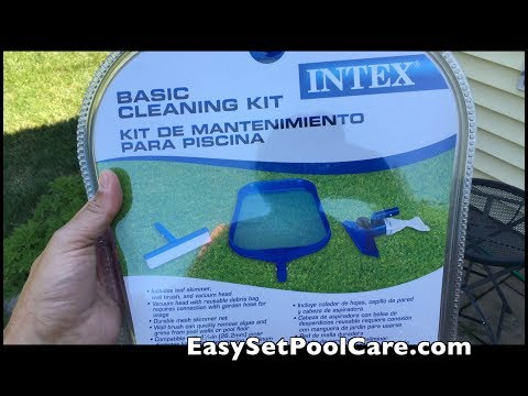 Intex Basic Cleaning Kit DEMO - For EasySet Pool
