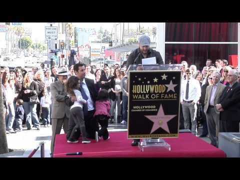 Adam Sandler Walk of Fame Ceremony