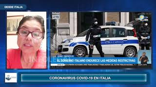 Desde Italia: Compatriota nos narra como transcurren los días en cuarentena