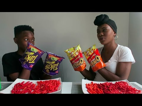 Video HOT CHEETOS AND TAKIS CHALLENGE download in MP3, 3GP, MP4, WEBM, AVI, FLV January 2017