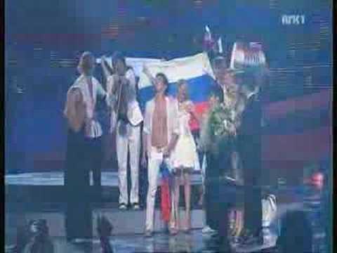 Dima Bilan, winner of ESC 2008,winner performance (видео)