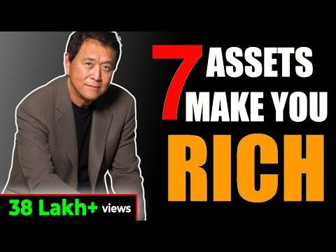 7 चीज़े जो हमें अमीर बनाती है | 7 ASSETS THAT MAKES YOU RICH | HOW TO GET RICH | GIGL | RICH VS POOR