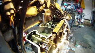 10. Kawasaki KLR Top End Rebuild (Time Lapse)