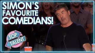 Video Comedians That MADE SIMON COWELL LAUGH! | Top Talent MP3, 3GP, MP4, WEBM, AVI, FLV Juni 2019