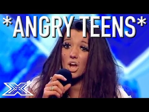 ANGRY TEEN AUDITIONS...Don't Mess With These Kids!