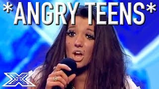 Download Video ANGRY TEEN AUDITIONS...Don't Mess With These Kids! MP3 3GP MP4