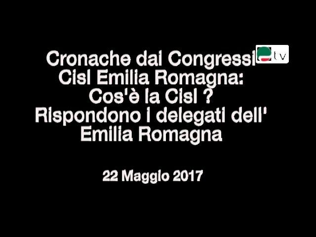 Congressi Cisl Emilia Romagna