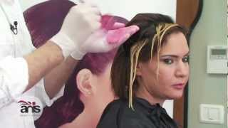 تخصيل وصبغ الشعر