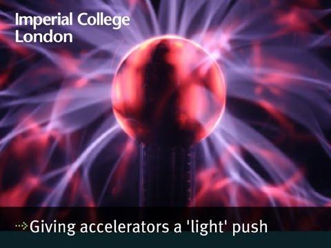 Geben Beschleunigern einen 'licht 'Push