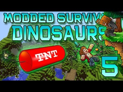 Let's - Play Minecraft on my Server - IP: thenexusmc.net Hey Doods! ♢♢♢ http://bit.ly/SubscribeToMyFridge ♢♢♢ Much Luv :) The fifth episode of my Modded Dinosaur Isl...