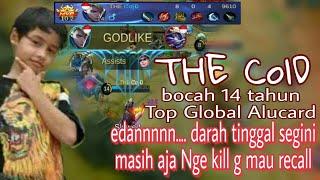 Download Video LUAR BIASA BOCAH AJAIB!! The Cold Bocah 14 Tahun Top Global Alucard Skillnya Dewa Banget MP3 3GP MP4