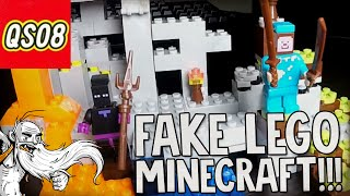 """COOL STYLING...CHANGING COLORS!!!"" Chinese Fake Minecraft LEGO unboxing"
