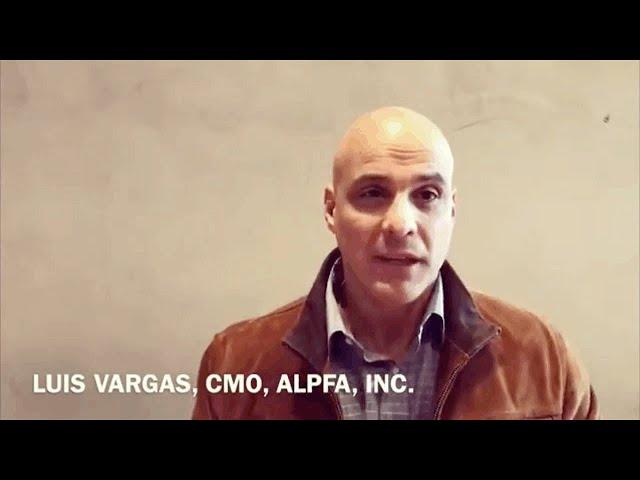 Luis Vargas, CMO, ALPFA, Inc.