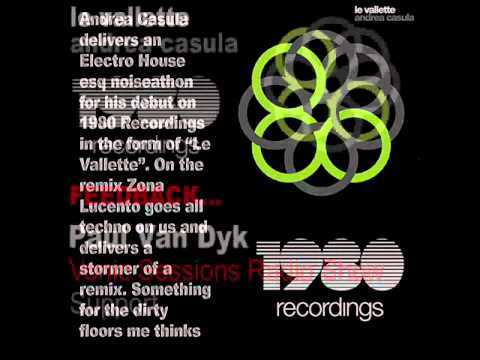 ANDREA CASULA - LE VALLETTE (ZONA LUCENTO REMIX) PREVIEW -1980 RECORDINGS-