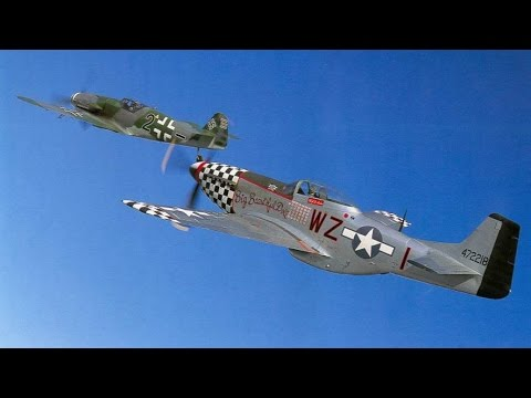 DCS World: P-51 Mustang Vs. Bf-109 Dogfight