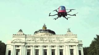 Ehang 184 : c'est le premier drone avec passager qui risquerait bien d'être commercialisé.