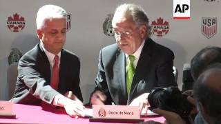 Trump Backs World Cup Bid With Mexico, Canada