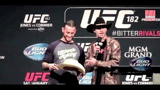 "Phillip ""CM Punk"" Brooks UFC 182 Debunks Critics"