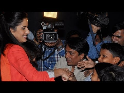 Katrina Kaif Spends A Day With Underprivileged Chi