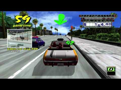 crazy taxi xbox 360 controls