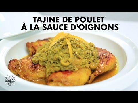 Choumicha : Tajine de poulet à la sauce d'oignons