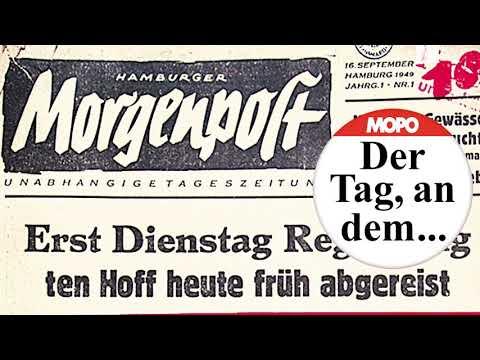 Der Tag, an dem ... Die Hamburger Morgenpost zum erst ...