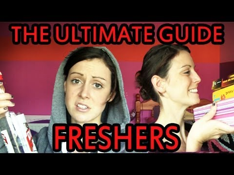 freshers - A guide to starting University. This was originally made for my University, this version is found here http://www.youtube.com/watch?v=KvPSJLi2Fxo&list=UUvSg1...