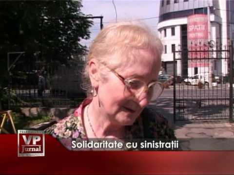 Solidaritate cu sinistratii