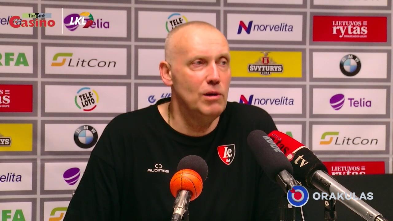 "R.Kurtinaitis: ""Malonu dirbti su šia jauna komanda"""