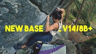 Linda Sjödin VS New Base Line V14/8B+ by Eric Karlsson Bouldering