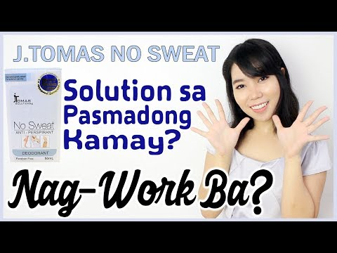 J.Tomas No Sweat Review |  Philippines