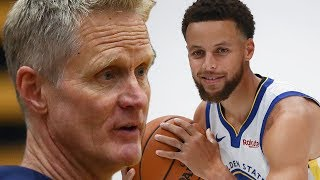 Steve Kerr Says Steph Curry Is At His PEAK, The BEST He's Ever Been by Obsev Sports