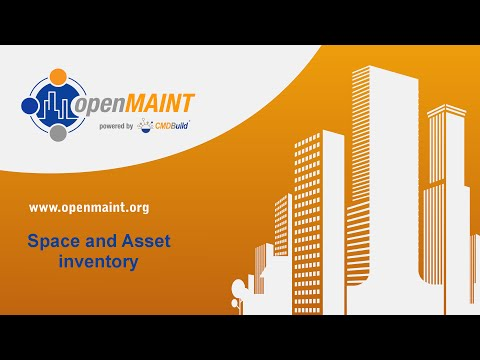 openMAINT: Space and Asset inventory