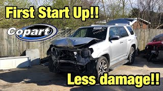 Rebuilding a Wrecked 2015 Toyota 4Runner Limited Part 2 From Copart Salvage Auction