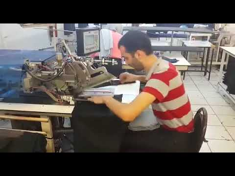 New-tecH Sewing Systems | Pocket welting machine 2025-1 by New-Tech