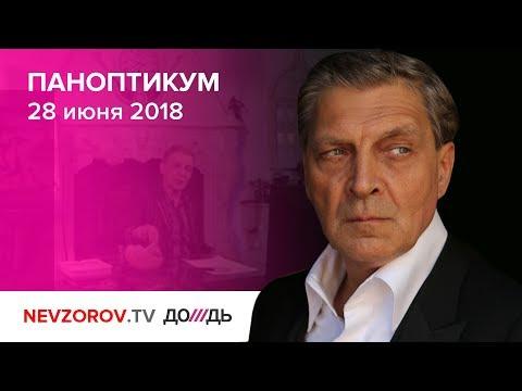 Паноптикум на ТВ канале \Дождь\ из студии Nеvzоrоv.тv 28.06.18 - DomaVideo.Ru