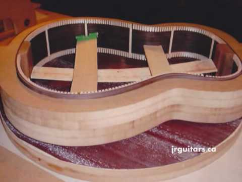 J.R. Guitars – Making an Acoustic Guitar