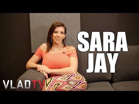 Sara Jay Reveals Her Perfect Size (видео)