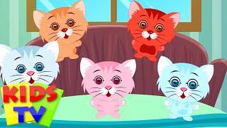 Five Little Kittens   English nursery rhymes for children   baby songs   Kids Tv Nursery Rhymes