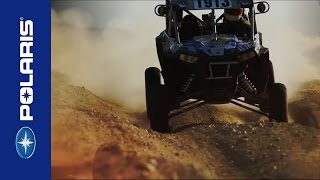 10. OFF-ROAD STARS FEEL THE THRILL OF THE 168 HORSEPOWER RZR XP TURBOs - Polaris RZR