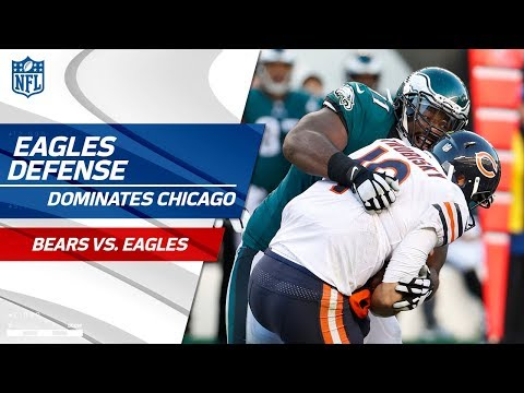 Video: Chicago Offense Can't Get Anything Going vs. Philly Defense! | Bears vs. Eagles | Wk 12 Player HLs