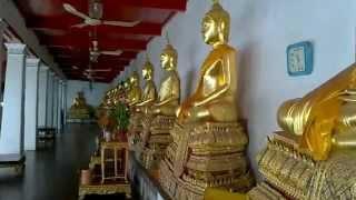 バンコク市内観光ワットマハータート